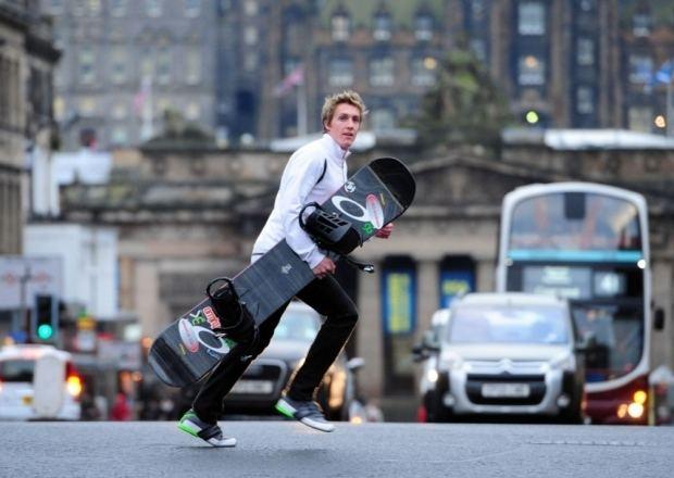 Ben Kilner Scots snowboarder Kilner ready for Winter Olympics The