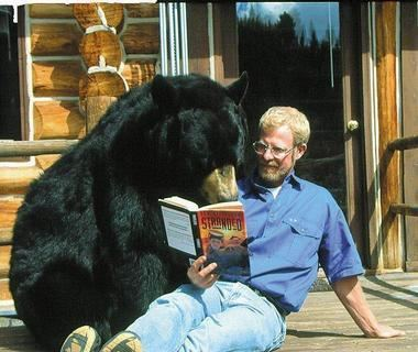 Ben Mikaelsen It All Started with a Black Bear Cub Author Ben Mikaelsen