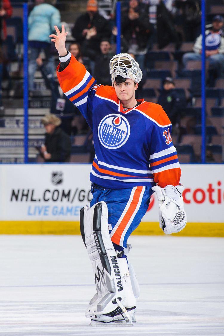 Ben Scrivens Edmonton Oilers39 Ben Scrivens makes 59 saves to shut out