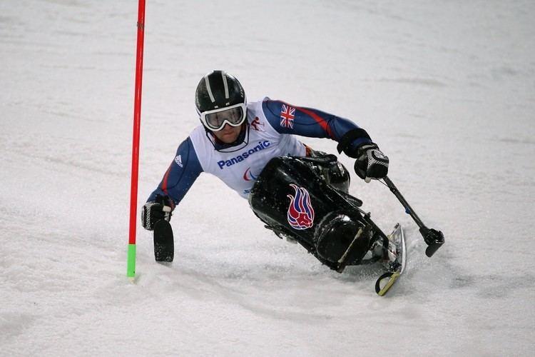 Ben Sneesby Ben Sneesby 1st run Mens slalom sitting Alpine skiing Sochi