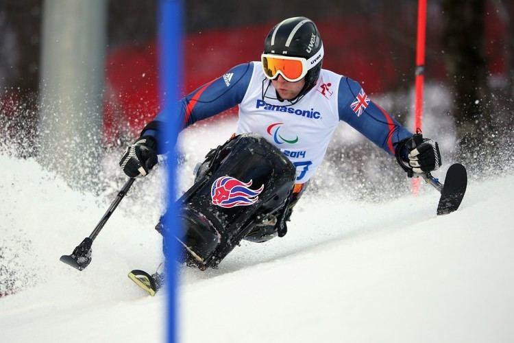 Ben Sneesby BEN SNEESBY Great Britain Paralympian Alpine Skiing