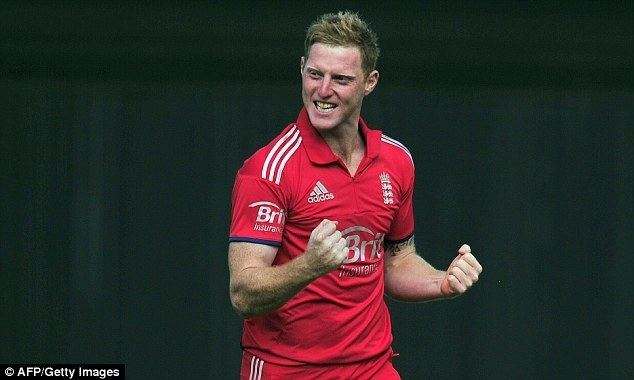 Ben Stokes (Cricketer) playing cricket