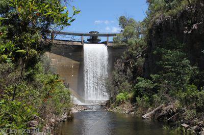 Bendora Dam Bendora Finally Kazza the Blank One