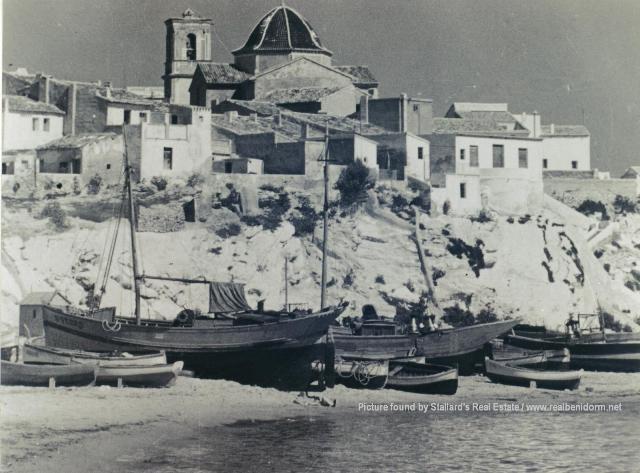 Benidorm in the past, History of Benidorm