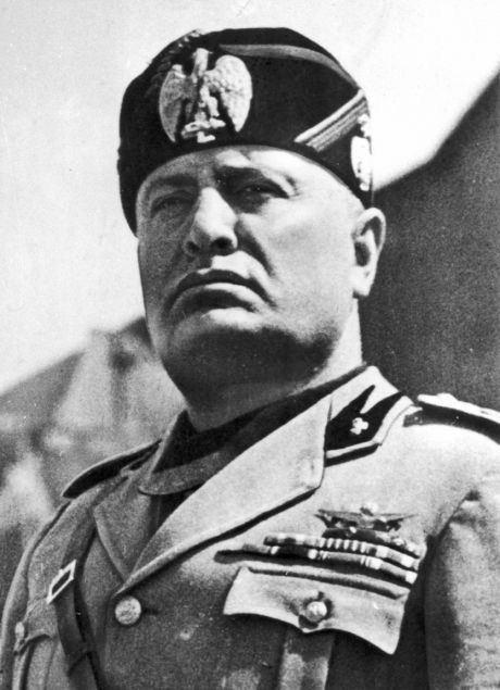 Benito Mussolini Italian fascist dictator Benito Mussolini saw himself as