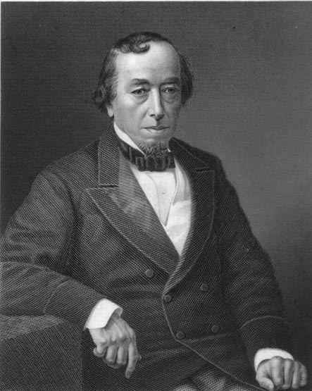 Benjamin Disraeli Portraits of Benjamin Disraeli in Ink Paint Metal and Stone