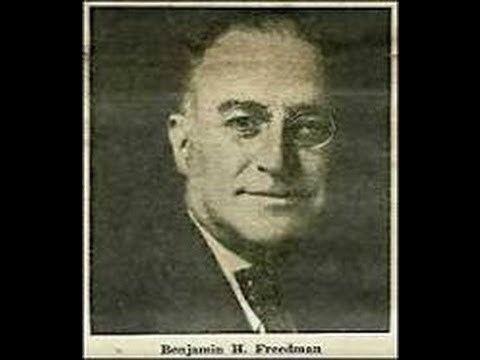 Benjamin H. Freedman httpsiytimgcomvix8OmxI2AYV8hqdefaultjpg
