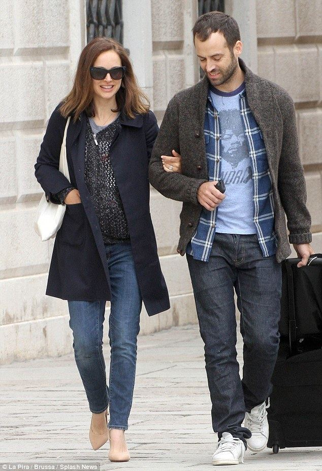 Benjamin Millepied Natalie Portman and husband Benjamin Millepied return to