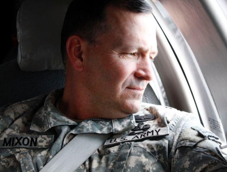 Benjamin R. Mixon Pentagon rebukes general for opposing repeal of dont ask dont