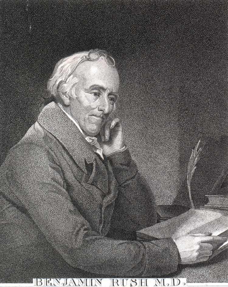 Benjamin Rush tresemerclass Doctor Benjamin Rush