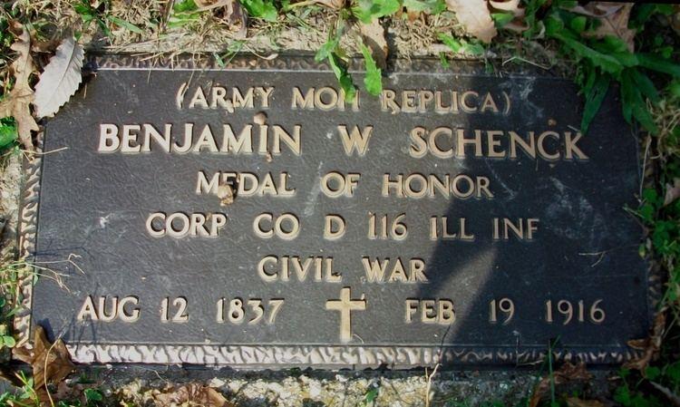 Benjamin W. Schenck Benjamin W Schenck 1837 1916 Find A Grave Memorial
