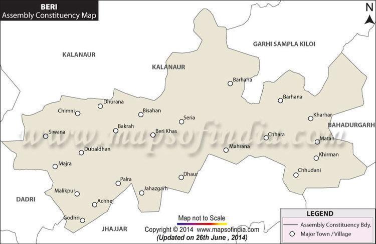 Beri, Haryana in the past, History of Beri, Haryana