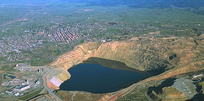 Berkeley Pit Berkeley Pit Lake The Most Deadly Lake in the United States