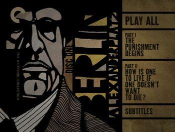 Berlin Alexanderplatz (miniseries) Berlin Alexanderplatz Criterion Collection DVD Talk Review of