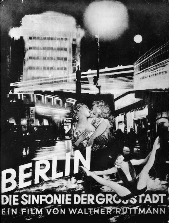 Berlin: Symphony of a Metropolis Berlin Symphony of a Great City Jeff Mills Cinemix Hard Life