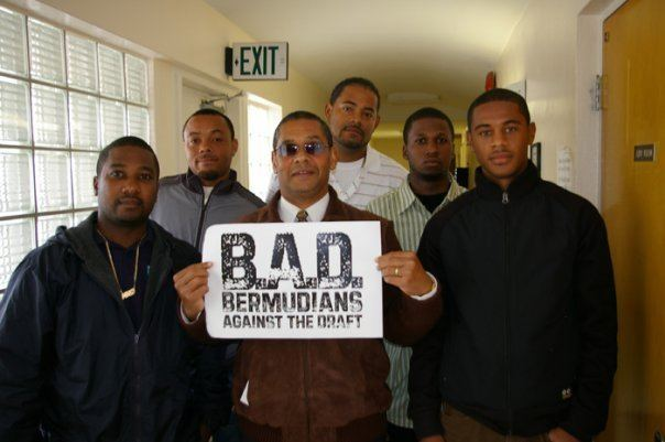 Bermudians Against the Draft