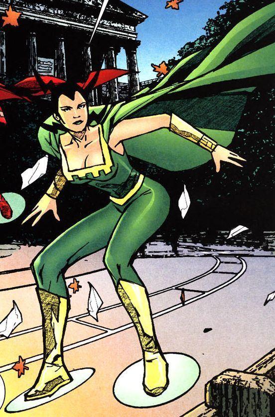 Bernadeth Black Adam vs HalfDozen Female Furies Battles Comic Vine