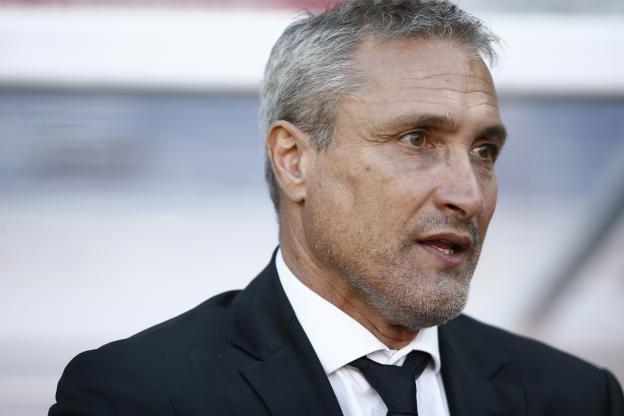 Bernard Casoni Foot Ligue 1 Lorient Bernard Casoni Lorient Cest frustrant