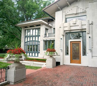 Bernard Corrigan House KCMODERN Bernard Corrigan Mansion by Louis S Curtiss Architect