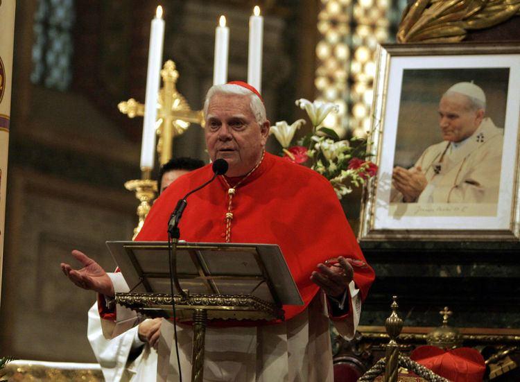 Bernard Francis Law Where Is Cardinal Bernard Law Now WBUR News