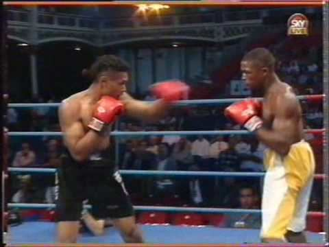 Bernard Paul (boxer) Bernard Paul v Carlos Chase YouTube
