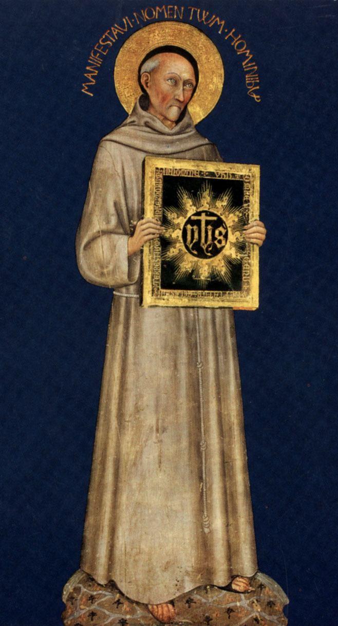 Bernardino of Siena - Alchetro...