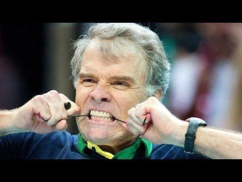 Bernardo Rezende Best Volleyball Coach Bernardo Rezende Emotions and Gestures VM
