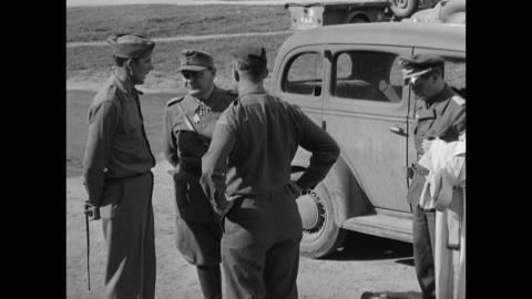 Bernd von Brauchitsch Hermann Gring Arresting End of War US Army Germany May 9