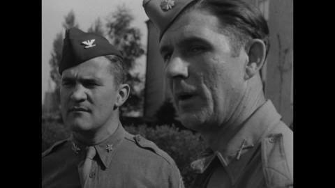Bernd von Brauchitsch End of War Pacific War Japan 1945 SD Stock Video 112400445