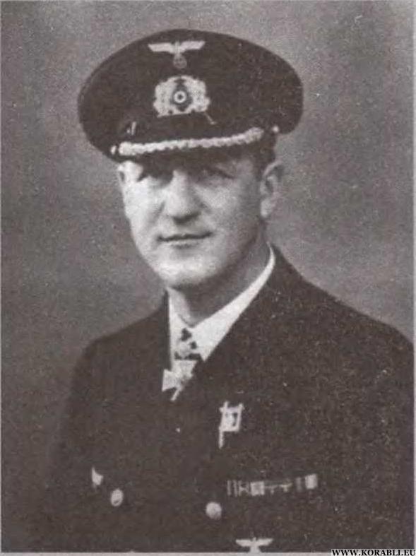 Bernhard Rogge Classify WW2 German Captain Bernhard Rogge