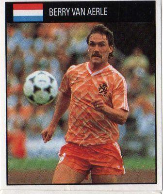Berry van Aerle NETHERLANDS Berry Van Aerle 128 ORBIS 1990 World Cup
