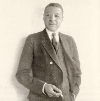 Bert Williams Blackface Bert Williams