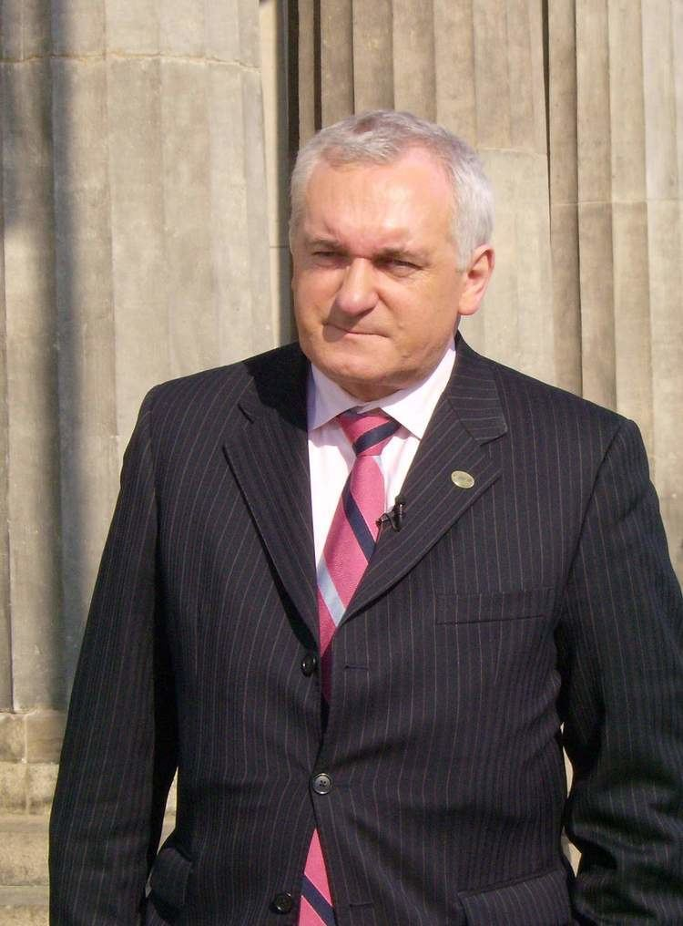 Bertie Ahern Bertie Ahern Wikipedia the free encyclopedia