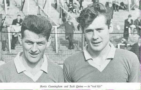 Bertie Cunningham GAA Nostalgia on Twitter Centre back Bertie Cunningham and full