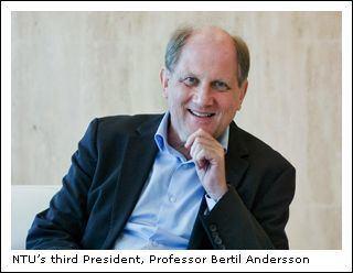 Bertil Andersson Professor Bertil Andersson leads the way