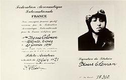 Bessie Coleman Bessie Coleman Wikipedia