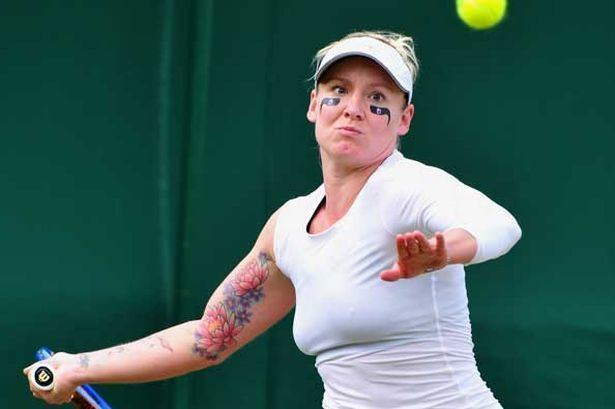 Bethanie Mattek-Sands Wimbledon Bethanie MattekSands wears day39s craziest
