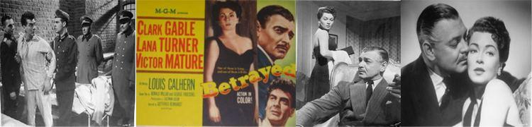 Betrayed (1954 film) movie scenes Betrayed 1954