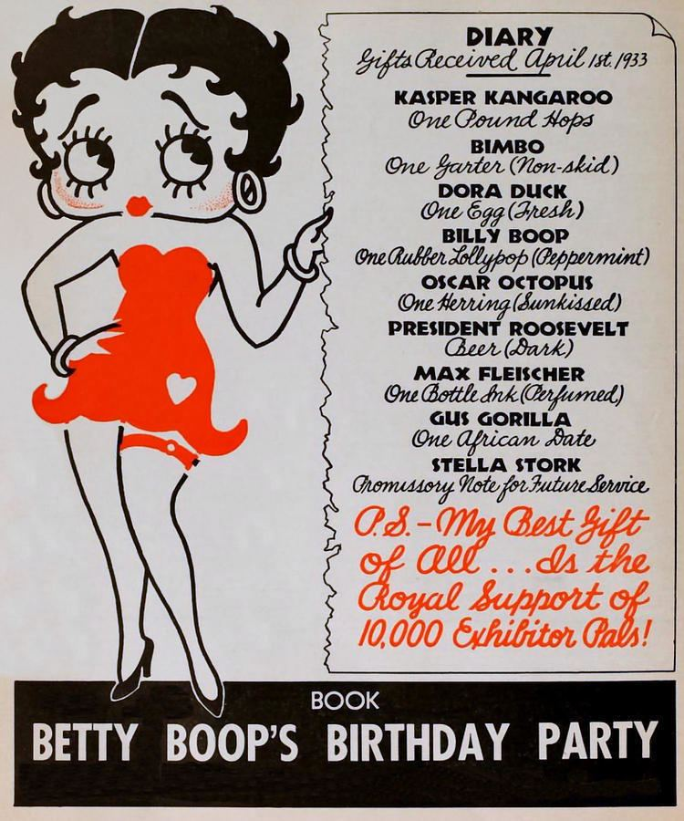 Betty Boops Birthday Party - Alchetron, the free social encyclopedia