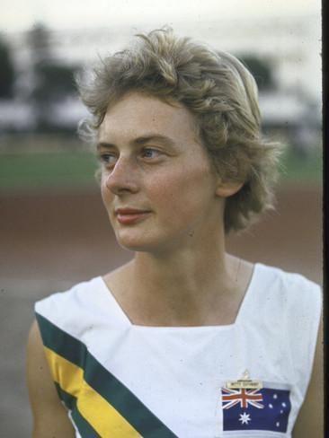 Betty Cuthbert Australian Track Star Betty Cuthbert at Summer Olympics