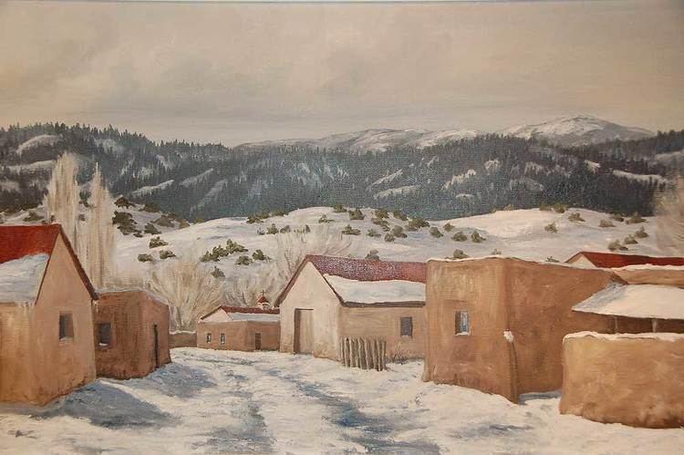 Betty Sabo Betty Sabo Painting SC3108 Adobe Gallery Santa Fe