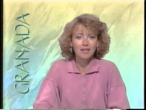 Beverley Ashworth Granada Television InVision Continuity With Beverley Ashworth 1989