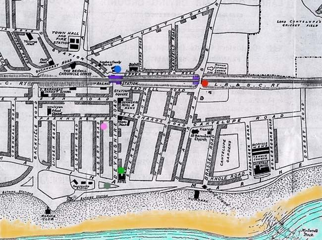 Bexhill on Sea in the past, History of Bexhill on Sea