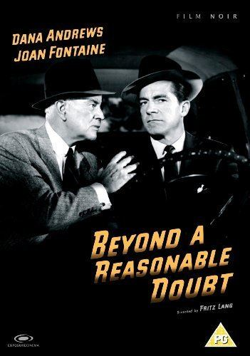 Beyond a Reasonable Doubt (1956 film) Beyond a Reasonable Doubt 1956 DVD Amazoncouk Dana Andrews