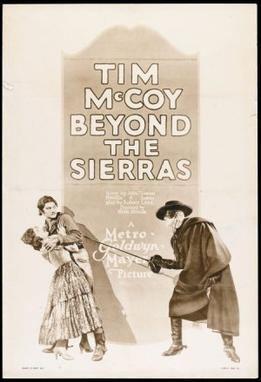 Beyond the Sierras movie poster