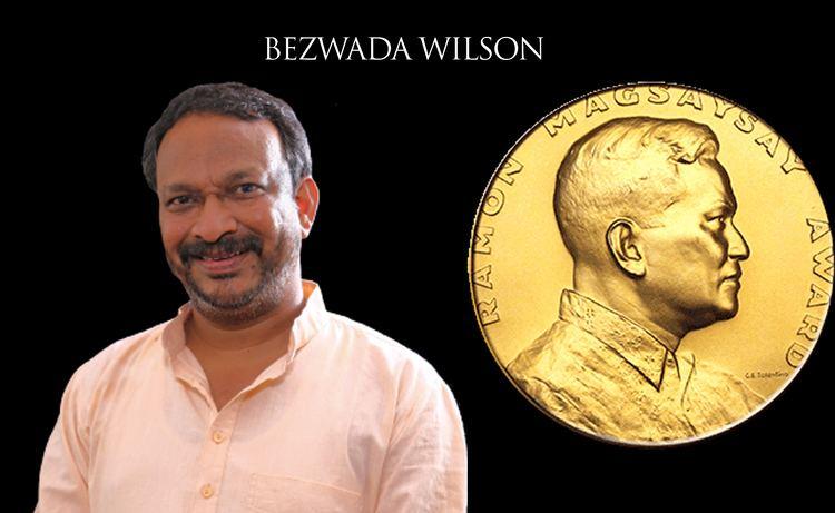 Bezwada Wilson CCA Congratulates Magsaysay Award Winner Bezwada Wilson Christian