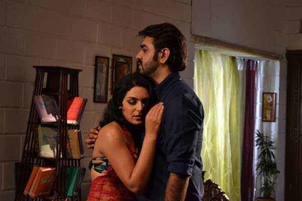 Bhadaas movie scenes Bhadaas Aryeman Ramsay Meera Hot Scene Stills