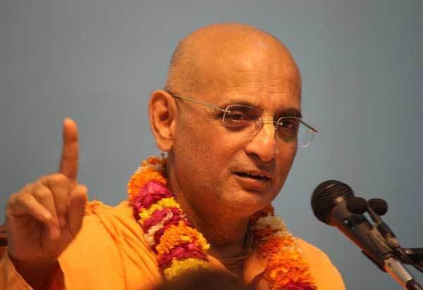 Bhakti Charu Swami Arrival Address Ujjain Bhakti Charu Swami