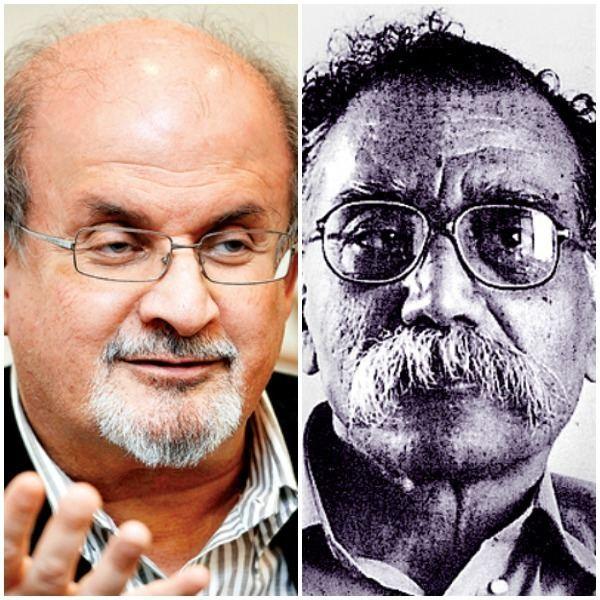 Bhalchandra Nemade Salman Rushdie lashes out at Jnanpith awardee Bhalchandra