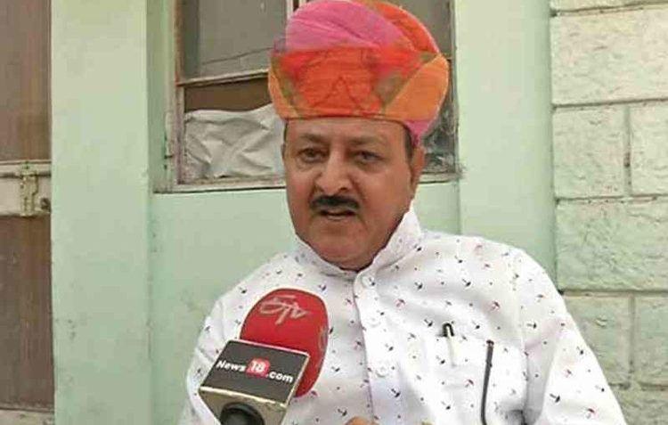 Bhawani Singh Rajawat BJP MLA Bhawani Singh Rajawat Says Adanis And Ambanis Knew The